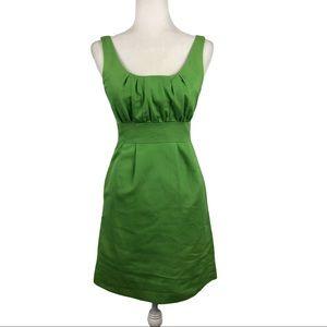 J. Crew Cotton Cady Sydney Party Dress Green Sz 0